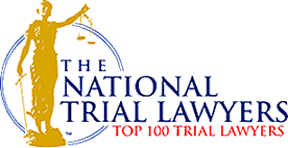 NATIONAL TRIAL LAWYERS TOP 100 LAWYERS Membership in this premier organization is by invitation only to the most most qualified attorneys who exemplify superior leadership, skill, and experience as a trial lawyer.