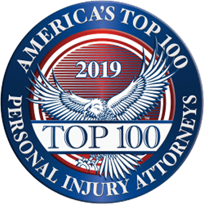 AMERICA's TOP 100 PERSONAL INJURY ATTORNEYS Membership in this exclusive organization is through nomination and screening to identify and highlight the accomplishments of the Nation's most esteemed and skillful lawyers in high-value, catastrophic injury cases.