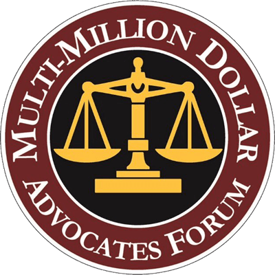MULTI-MILLION DOLLAR ADVOCATES FORUM Membership in this select group of attorneys means our firm has secured multi-million-dollar verdicts, settlements or awards for our clients.